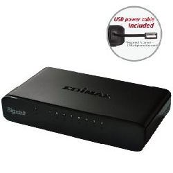 Switch 8 puertos edimax 10 100