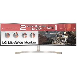 Monitor led lg curvo...