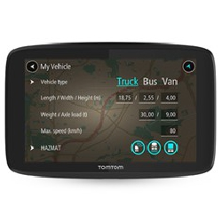 Gps tomtom go professional...