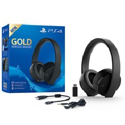 Auricular sony ps4 gold...